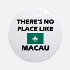 There Is No Place Like Macau Ornament (Round)