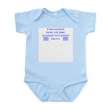 God Invented Baklava Flag Infant Bodysuit