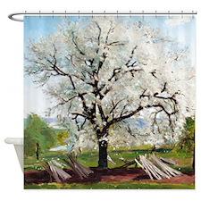Carl Fredrik Hill Flowering Fruit Tree Shower Curt