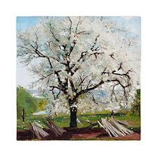 Carl Fredrik Hill Flowering Fruit Tree Queen Duvet