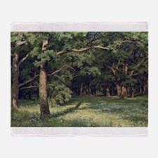 Ivan ShishkinThe Forest Clearing Throw Blanket