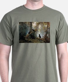 Ivan Shishkin Morning In A Pine Forest T-Shirt