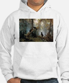 Ivan Shishkin Morning In A Pine Forest Hoodie
