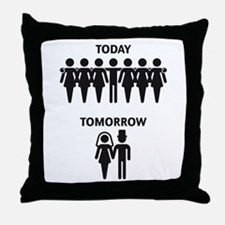 Today - Tomorrow (Stag Night / Stag Party) Throw P