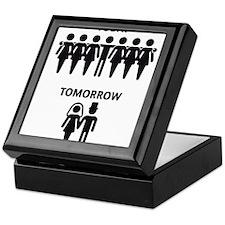 Today - Tomorrow (Stag Night / Stag Party) Keepsak