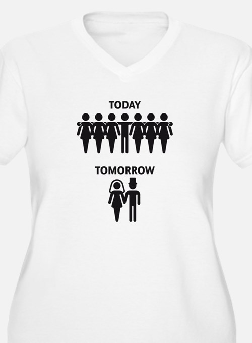 Today - Tomorrow (Stag Night / Stag Party) T-Shirt