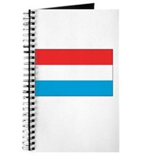 Luxembourg Flag Picture Journal