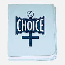Atheist Choice baby blanket