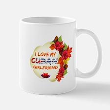 Cuban Girlfriend Valentine design Mug