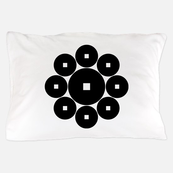 Hasebe coins Pillow Case