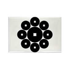 Hasebe coins Rectangle Magnet (100 pack)