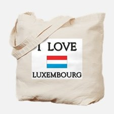 I Love Luxembourg Tote Bag