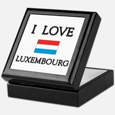 I Love Luxembourg Keepsake Box