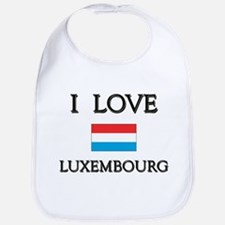 I Love Luxembourg Bib