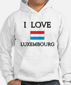 I Love Luxembourg Hoodie