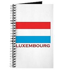 Luxembourg Flag Merchandise Journal