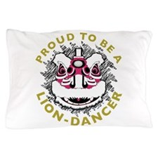 Hok San Lion Dance Pillow Case