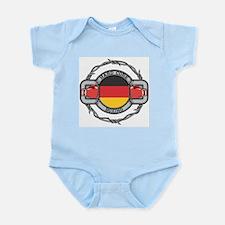 Germany Boxing Infant Bodysuit