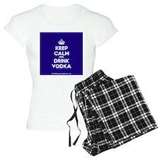 Keep Calm and Drink Vodka Pajamas