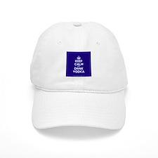 Keep Calm and Drink Vodka Baseball Cap