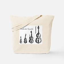 Viola da Gamba Gig Bag for Accessories