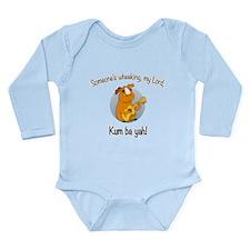 Kumbaya Guinea Pig Long Sleeve Infant Bodysuit