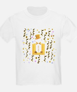New Year's Tuxedo Kids T-Shirt