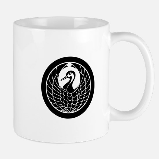 Crane circle, encircled Mug
