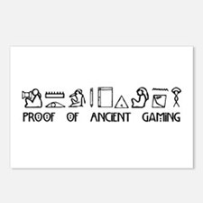 Ancient Gaming Postcards (Package of 8)