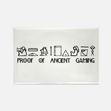 Ancient Gaming Rectangle Magnet