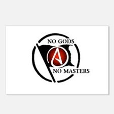 No Gods No Masters Postcards (Package of 8)