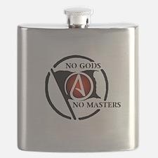 No Gods No Masters Flask