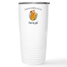 Kumbaya Guinea Pig Travel Coffee Mug