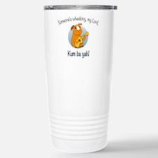 Kumbaya Guinea Pig Travel Mug