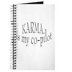Karma is my Co-pilot Journal