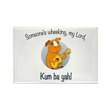 Kumbaya Guinea Pig Rectangle Magnet