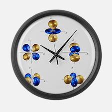 3d electron orbitals - Large Wall Clock