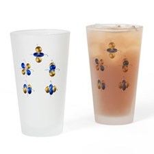 3d electron orbitals - Drinking Glass