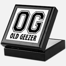 OG - Old Geezer Keepsake Box