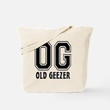 OG - Old Geezer Tote Bag