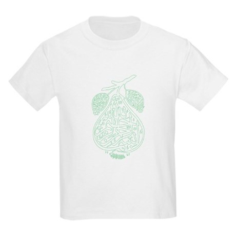 bismillah pear Kids Light T-Shirt