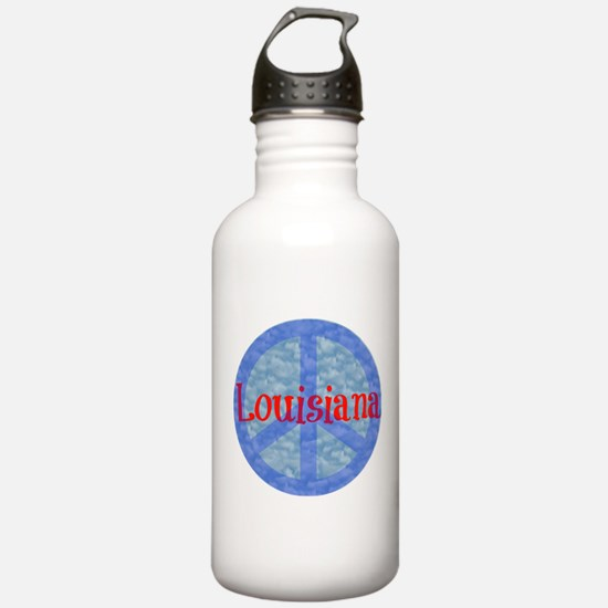Louisiana Peace Water Bottle