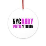 NYCBABY Ornament (Round)
