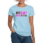 NYCBABY Women's Pink T-Shirt