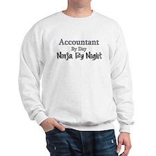 Accountant by Day Ninja by Night Sweatshirt