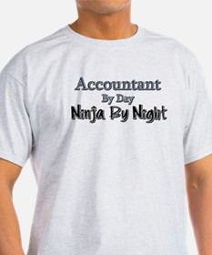 Accountant by Day Ninja by Night T-Shirt