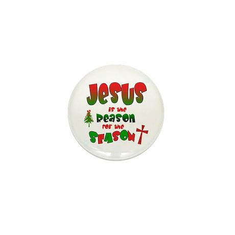 Jesus is the reason for the season Mini Button (10