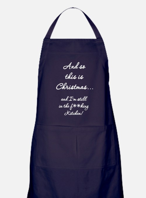 Cute Beer bbq Apron (dark)