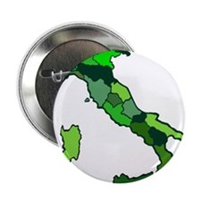 """Map of Italy 2.25"""" Button"""