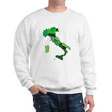 Map of Italy Sweatshirt